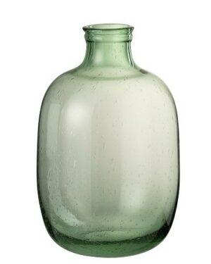 Vase Nora Rond Verre Vert