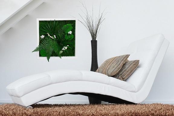 Tableau Végétal Square Green