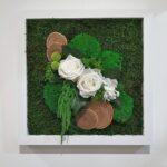 Tableau Végétal Elegance Forest 30x30 cm