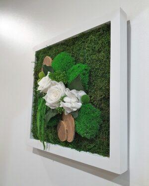 Tableau Végétal Elegance Forest 30x30 cm 2