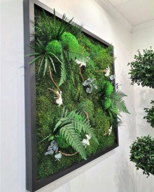 Tableau Végétal Jardin d'Endrobium 2