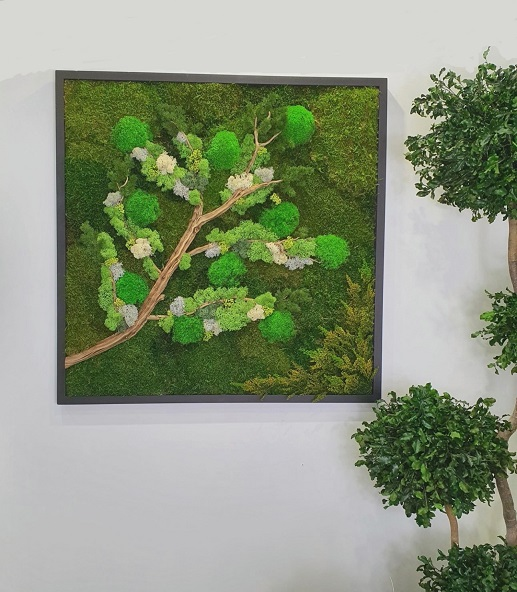 Tableau Végétal Tree Branch 80x80
